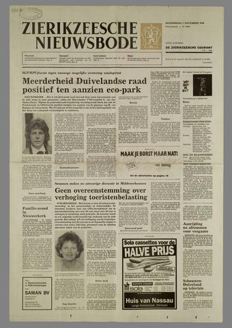 Zierikzeesche Nieuwsbode 1990-11-01
