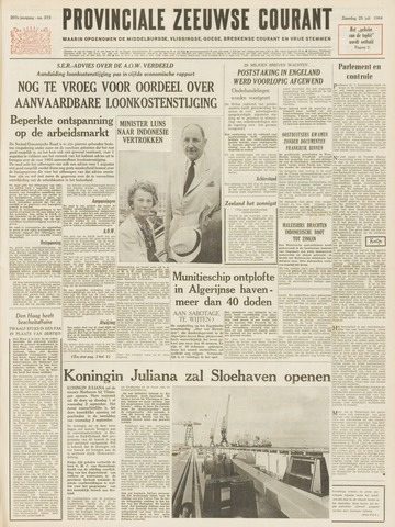 Provinciale Zeeuwse Courant 1964-07-25