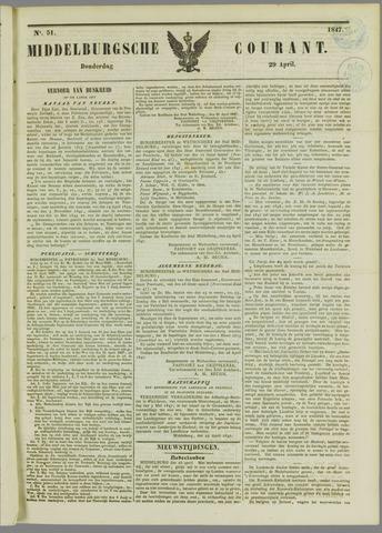 Middelburgsche Courant 1847-04-29