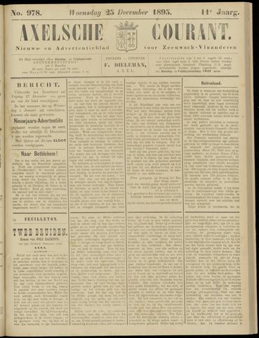Axelsche Courant 1895-12-25