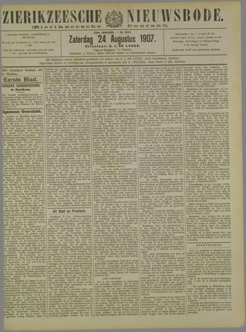 Zierikzeesche Nieuwsbode 1907-08-24