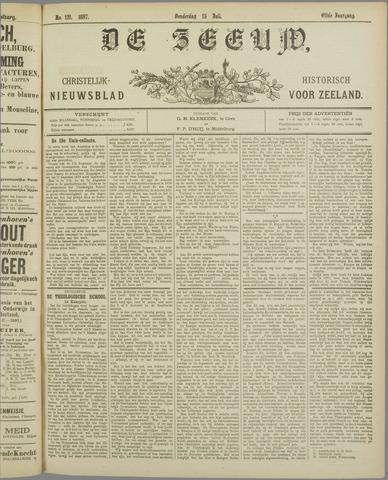 De Zeeuw. Christelijk-historisch nieuwsblad voor Zeeland 1897-07-15