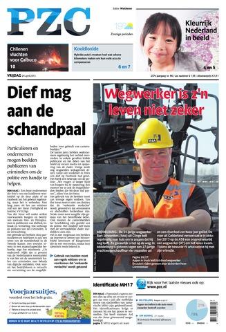 Provinciale Zeeuwse Courant 2015-04-24