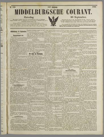 Middelburgsche Courant 1908-09-26