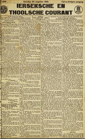 Ierseksche en Thoolsche Courant 1919-08-30