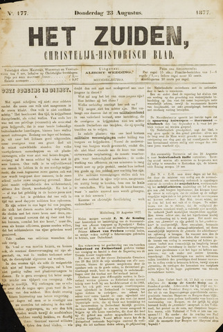 Het Zuiden, Christelijk-historisch blad 1877-08-23