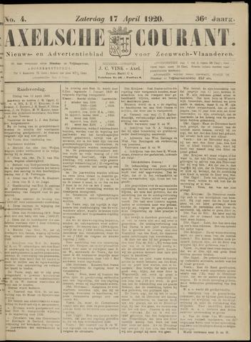 Axelsche Courant 1920-04-17