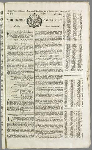 Zierikzeesche Courant 1814-11-04