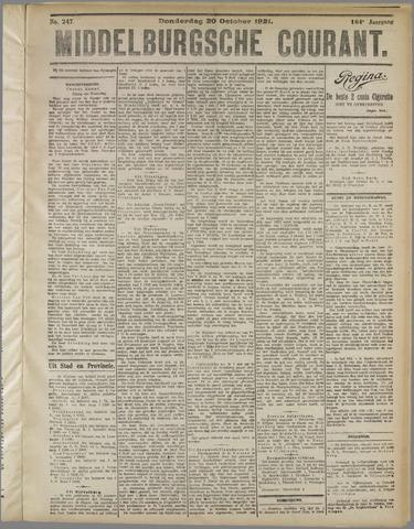Middelburgsche Courant 1921-10-20
