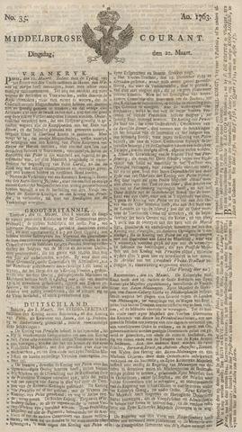 Middelburgsche Courant 1763-03-22