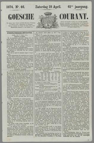 Goessche Courant 1874-04-18
