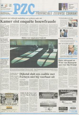 Provinciale Zeeuwse Courant 2002-01-25