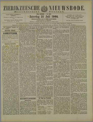 Zierikzeesche Nieuwsbode 1906-07-21