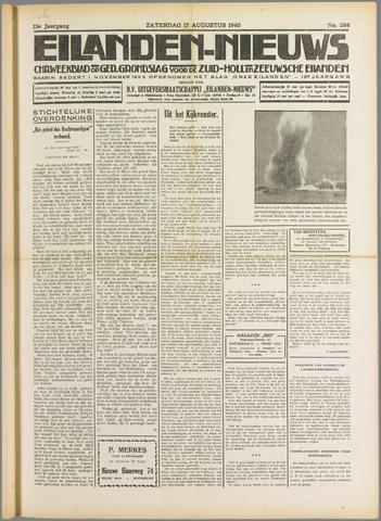 Eilanden-nieuws. Christelijk streekblad op gereformeerde grondslag 1940-08-17