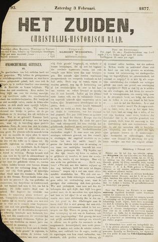 Het Zuiden, Christelijk-historisch blad 1877-02-03