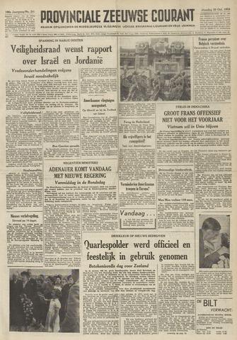 Provinciale Zeeuwse Courant 1953-10-20