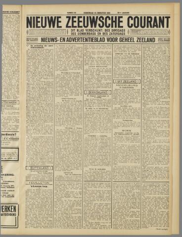 Nieuwe Zeeuwsche Courant 1934-08-23