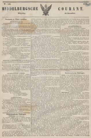 Middelburgsche Courant 1850-12-10