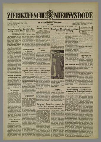Zierikzeesche Nieuwsbode 1954-09-24