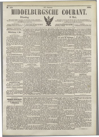 Middelburgsche Courant 1899-05-09