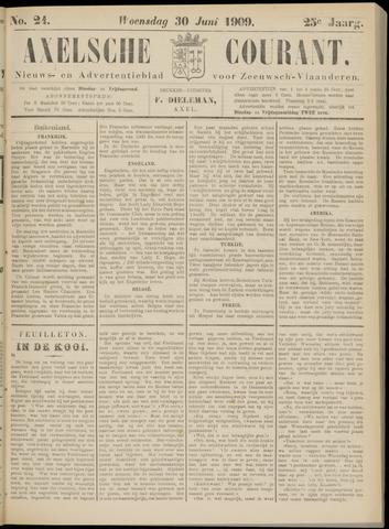 Axelsche Courant 1909-06-30