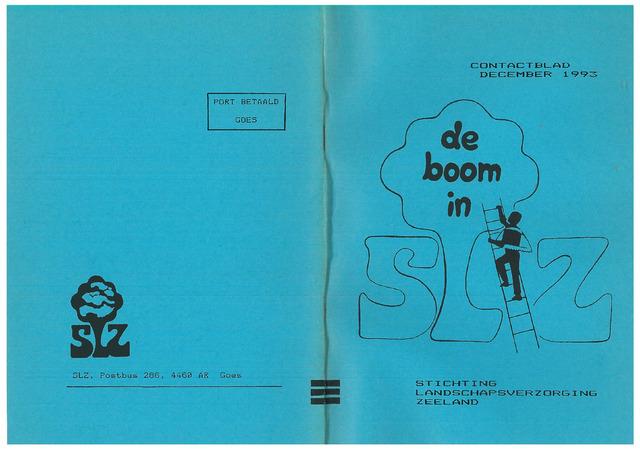 Landschapsbeheer Zeeland - de Boom in 1993-12-01