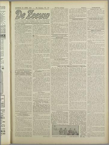 De Zeeuw. Christelijk-historisch nieuwsblad voor Zeeland 1944-04-25