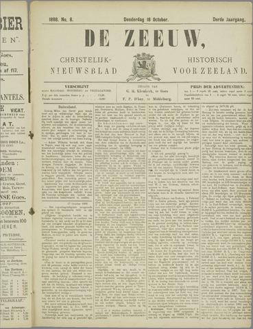 De Zeeuw. Christelijk-historisch nieuwsblad voor Zeeland 1888-10-18