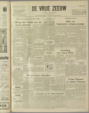 de Vrije Zeeuw 1958-09-30