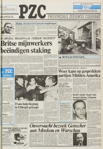 Provinciale Zeeuwse Courant 1985-03-04
