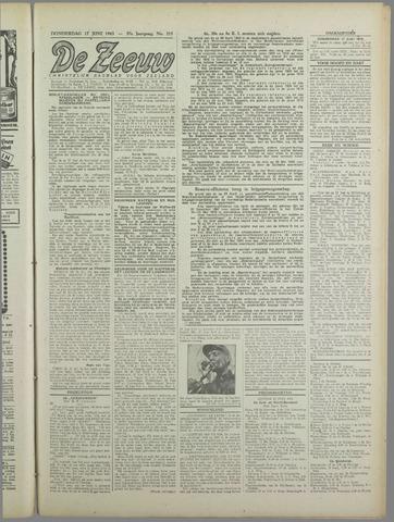 De Zeeuw. Christelijk-historisch nieuwsblad voor Zeeland 1943-06-17