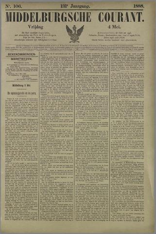 Middelburgsche Courant 1888-05-04