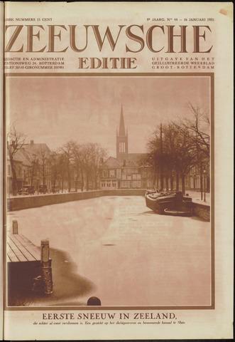 Ons Zeeland / Zeeuwsche editie 1931-01-16