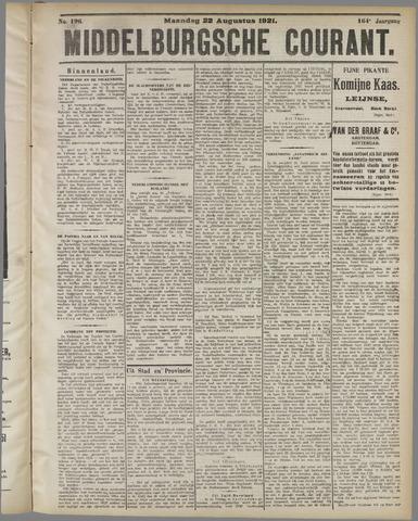 Middelburgsche Courant 1921-08-22