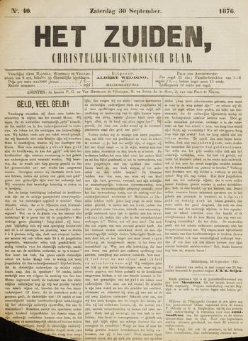 Het Zuiden, Christelijk-historisch blad 1876-09-30