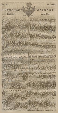 Middelburgsche Courant 1775-03-02