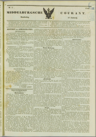 Middelburgsche Courant 1846-01-15