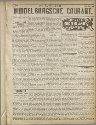 Middelburgsche Courant 1922-06-17