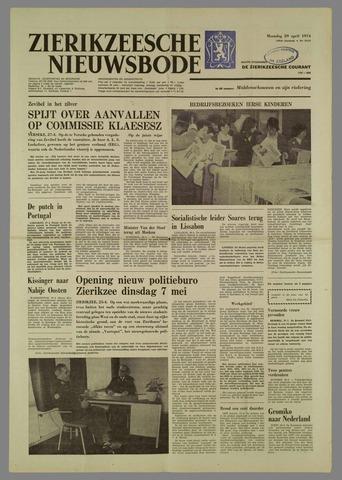 Zierikzeesche Nieuwsbode 1974-04-29
