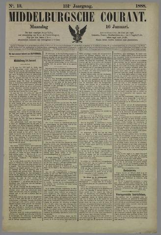 Middelburgsche Courant 1888-01-16
