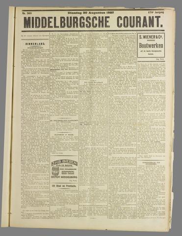 Middelburgsche Courant 1927-08-30