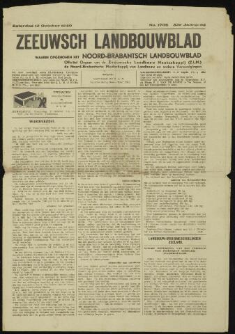 Zeeuwsch landbouwblad ... ZLM land- en tuinbouwblad 1940-10-12