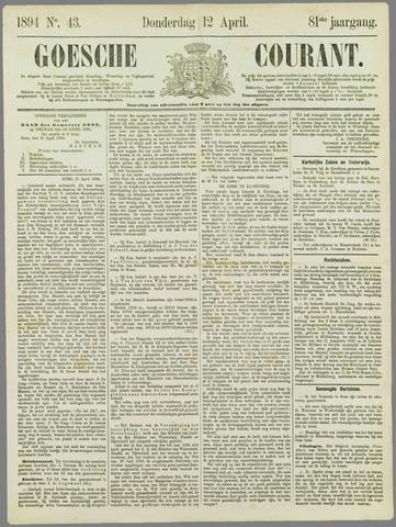 Goessche Courant 1894-04-12