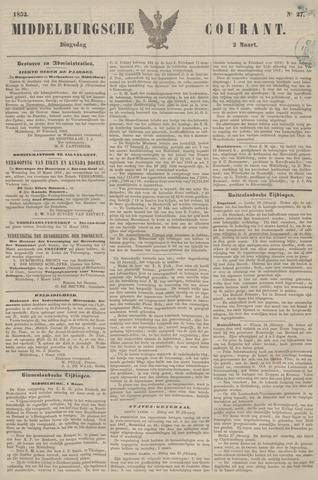 Middelburgsche Courant 1852-03-02