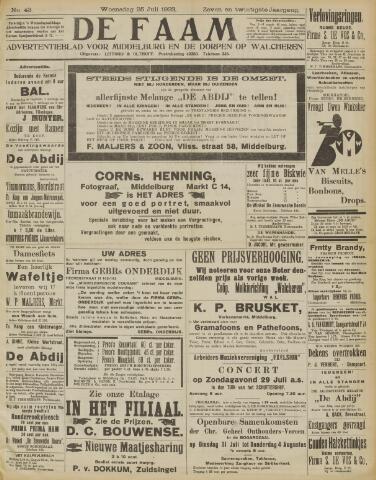 de Faam en de Faam/de Vlissinger 1923-07-25