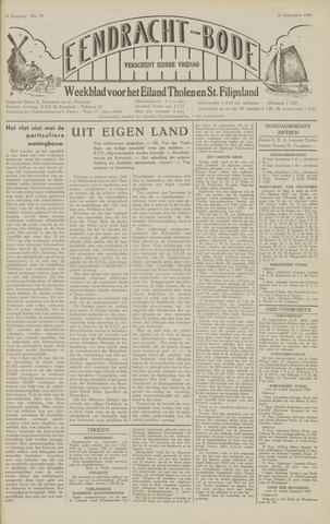 Eendrachtbode (1945-heden)/Mededeelingenblad voor het eiland Tholen (1944/45) 1949-09-16
