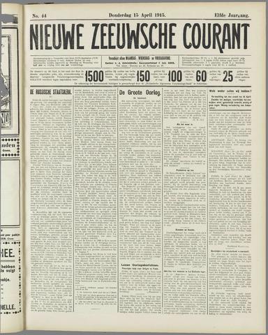 Nieuwe Zeeuwsche Courant 1915-04-15