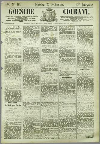 Goessche Courant 1906-09-25