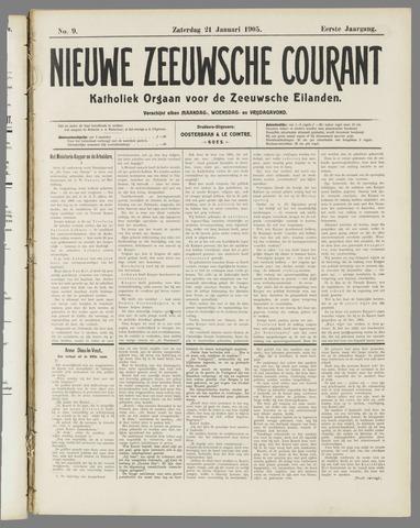 Nieuwe Zeeuwsche Courant 1905-01-21