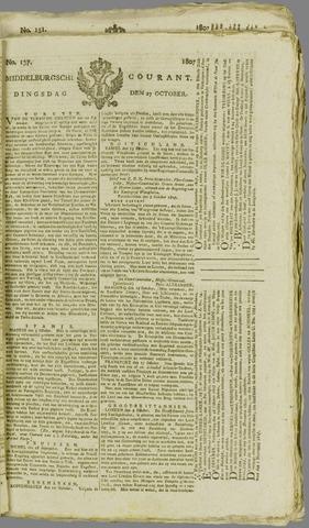 Middelburgsche Courant 1807-10-27